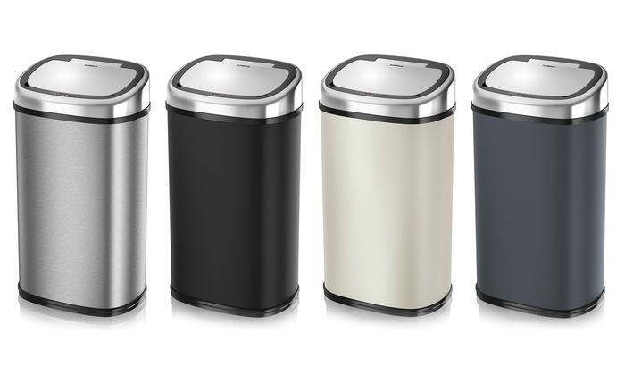 Comment la poubelle automatique assure-t-elle l'hygiène ?